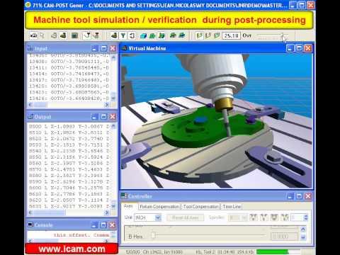 Mastercam ICAM Demo (30 mb)