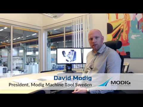 MODIG HHV Bar Mill Driven by ICAM's Integrated Post-Processor & Simulator