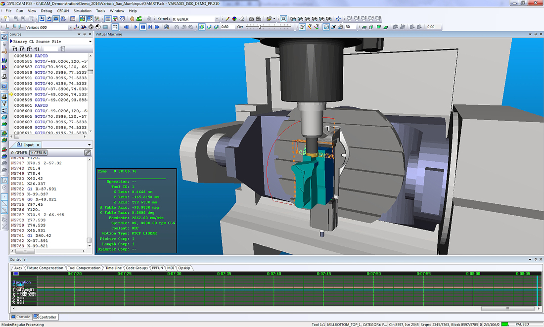 Catia 5 axis post processor