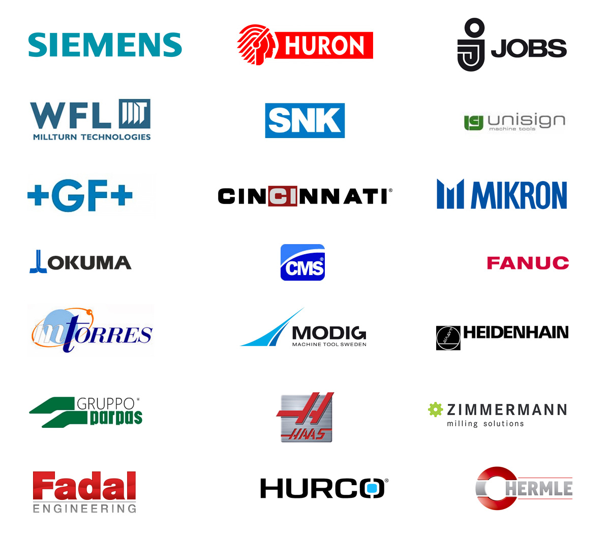 Supported CAD/CAM Systems, CNC Machines & Controllers | ICAM