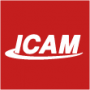 small ICAM logo on popup