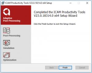 icam productivity tools finish