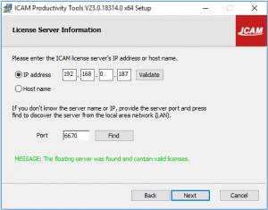 icam productivity tools set up