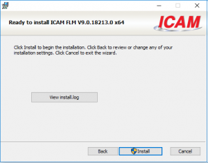icam license install
