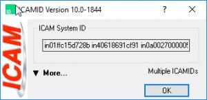 icam system id