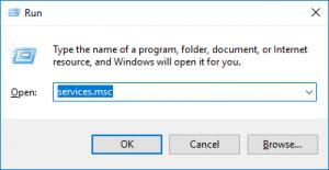 run services msc